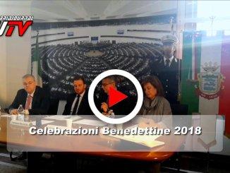 Presentato a Roma il programma delle Celebrazioni Benedettine 2018, il video