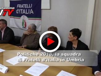 Politiche 2018,il video della squadra di Fratelli D'Italia