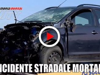 Incidente mortale a Po' Bandino di Città della Pieve in Umbria