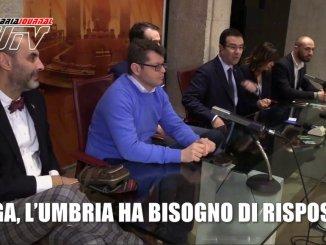 Politiche 2018, Lega, l'Umbria ha bisogno di risposte, il video