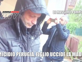Omicidio a Perugia, figlio uccide la madre, l'arresto, il video