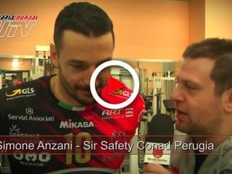Sir Safety Conad Perugia, Simone Anzani, contentissimo della vittoria