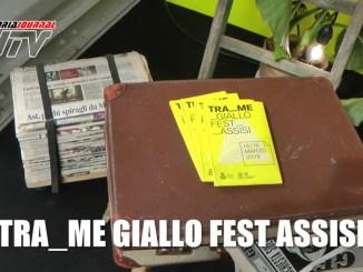 Tra_me Giallo Fest, Isabella Saffaye ad Assisi scrive il suo racconto noir