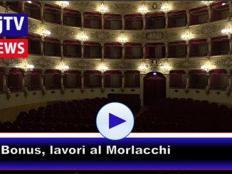 Art Bonus, al via i lavori al Teatro Morlacchi di Perugia