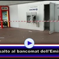Assaltato il bancomat dell'Emisfero in via Settevalli a Perugia, il video