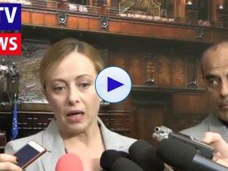 Giorgia Meloni, Matteo Salvini primo generale che si consegna al nemico