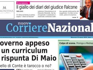 Nuovo Corriere Nazionale del 23 maggio 2018, sfogliabile