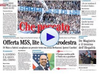 Rassegna stampa nazionale, le notizie sui giornali di oggi