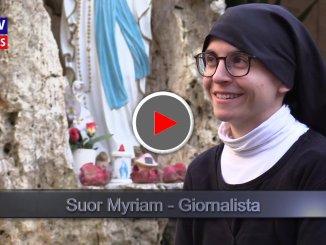 Suor Myriam D'Agostino è diventata giornalista, l'intervista