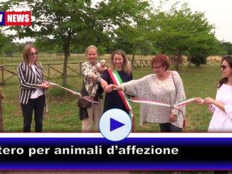 Inaugurato il cimitero per gli animali d'affezione a Collestrada