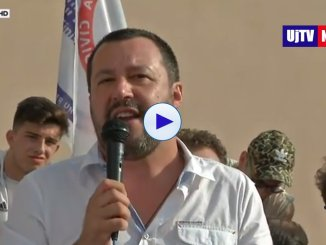Rom, ministro Matteo Salvini, nessuna schedatura, tuteliamo i bambini