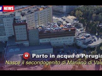 Parto in acqua a Perugi, nasce il secondogenito di Mariano Di Vaio