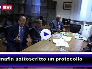 Antimafia sottoscritto protocollo alla procura di Perugia
