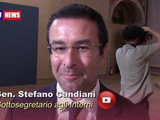 Mostra Capolavori del Trecento, intervento sottosegretario agli Interni, Stefano Candiani