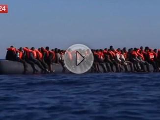 """Migranti, i dati sugli sbarchi in Europa, e ora la Spagna è il """"Porto"""" di approdo"""