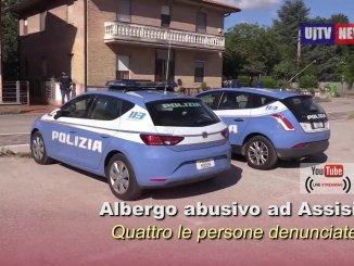 La Polizia di Stato ha scoperto un albergo abusivo a Santa Maria degli Angeli di Assisi, quattro denunce