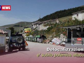 Delocalizzazioni Castelluccio, è subito polemica, intervista ad assessore Paparelli