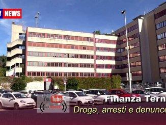 Guardia di Finanza Terni, spaccio di droga, arresti, denunce e segnalazioni