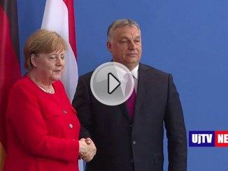 Orban a Berlino, questione migranti, per essere umani bisogna chiudere frontiere