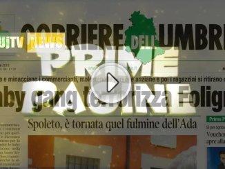 Rassegna stampa 12 luglio dell'Umbria baby gang terrorizza Foligno