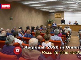Verso le elezioni del 2020 in Umbria, Ricci, saranno tre liste civiche