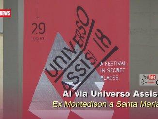 Universo Assisi, inaugurata l'installazione di Luca Trevisani