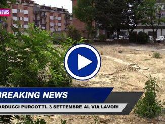 Scuola Carducci Purgotti, dopo demolizione, al via i lavori ricostruzione