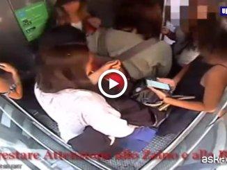Milano, borseggiatrici in azione alla Stazione centrale