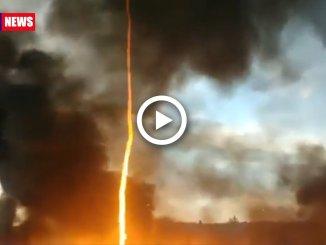Incendi, in California anche un Firenado: le immagini