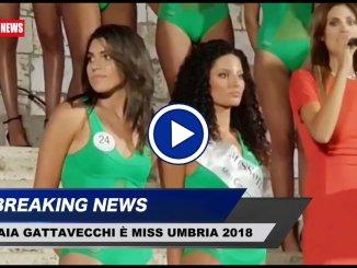 Gaia Gattavecchi Miss Umbria 2018, studentessa di Castiglione del Lago