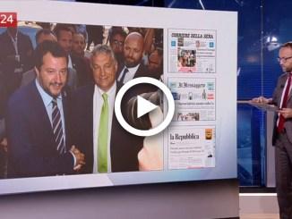 La Video rassegna stampa nazionale di SkyTG24 del 30 agosto 2018