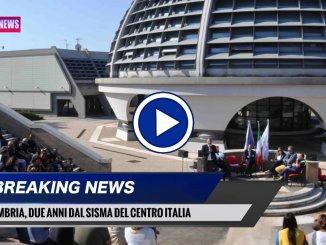Due anni dal sisma, il ricordo in Umbria, le cose fatte