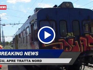 Riapre tratta Nord FCU, il 10 settembre riconsegna lavori, il video