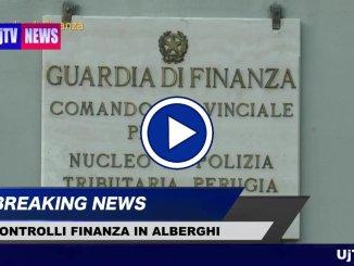 Finanza, Strutture ricettive della provincia di Perugia controllate, il video