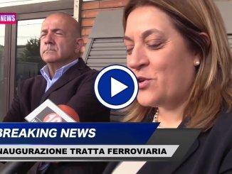 Trasporti, l'Umbria avrà la sua ferrovia, inaugurazione, intervista video