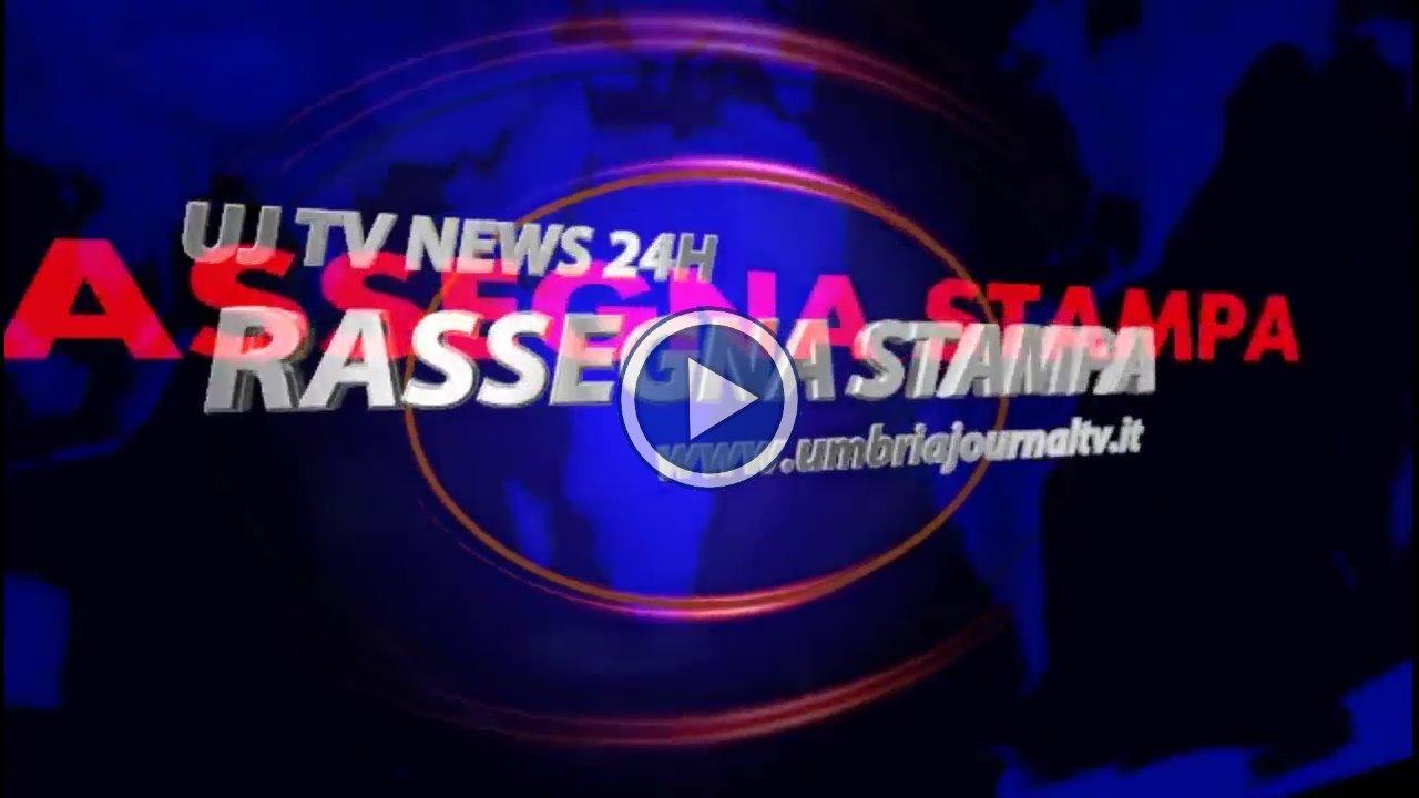 La Video Rassegna Stampa Dell'Umbria Di Lunedì 22 Ottobre 2018