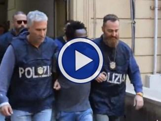 Video del terzo fermato per l'omicidio della 16enne Desirée