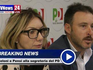 Pensi e Meloni candidati alla segreteria regionale del Pd, il video