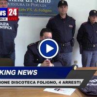 Aggressione di due giovani alla discoteca di Foligno, 4 arresti, il video