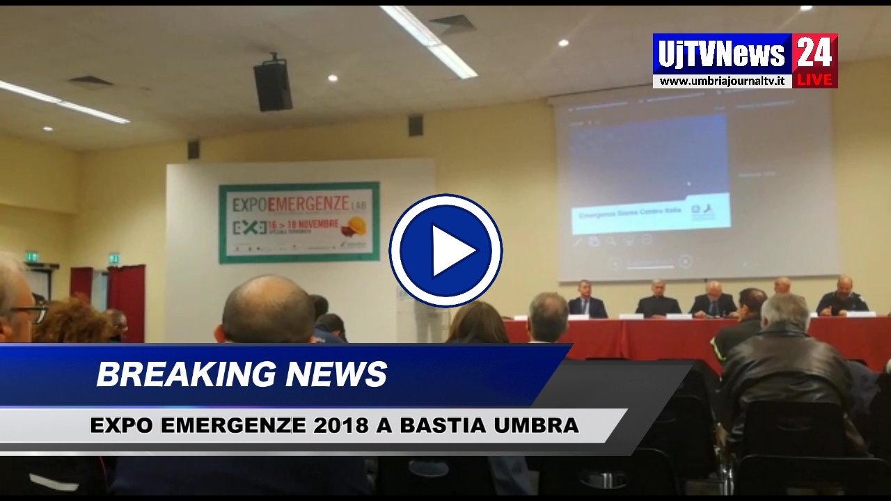 Inaugurata Expo Emergenze 2018 a Umbriafiere, il video