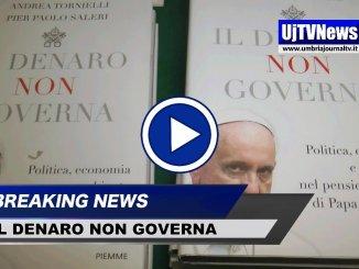 Il denaro non governa, presentato a Perugia il libro di Andrea Tornielli e Pier Paolo Saleri