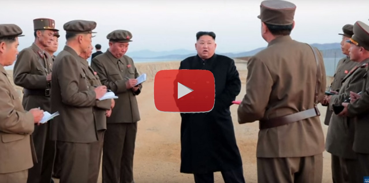 Kim Jong-un testa un'arma misteriosa, video Corea del Nord