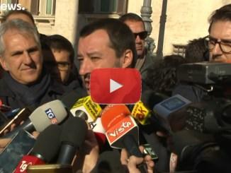 Le reazioni all'approvazione del decreto sicurezza, video dichiarazione Salvini