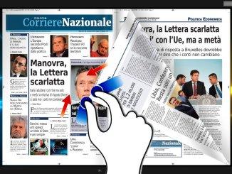 La presentazione del Nuovo Corriere Nazionale di mercoledì 14 novembre 2018