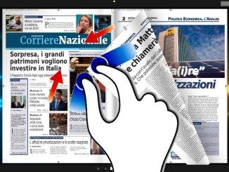Presentazione del Corriere nazionale edizione di venerdì 16 novembre 2018