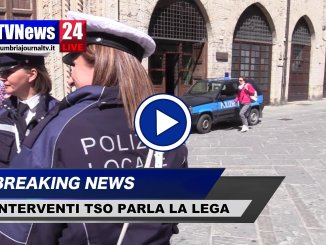 Esecuzione Tso, incidente Polizia locale, interviene Lega Perugia, video