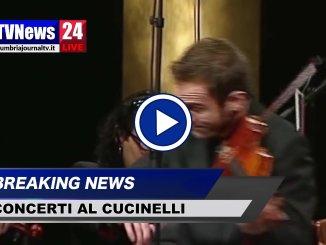 Stefan Milenkovich, video, al Teatro Cucinelli con Orchestra da Camera di Perugia