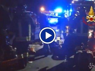 Ancona, tragedia in discoteca, almeno 6 morti e centinaia di feriti, immagini