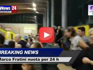 Marco Fratini e il suo record del mondo nuota per 24 video de Il Nerdiario