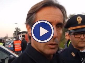 Esplosione autocisterna video dichiarazione questore di Rieti Antonio Mannoni